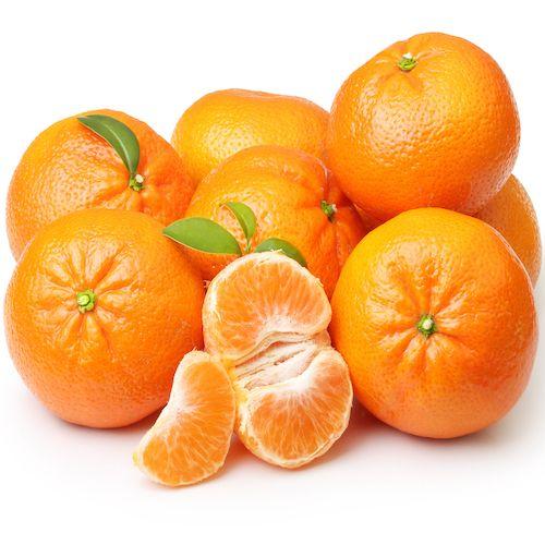 Mandarinas mezcladas